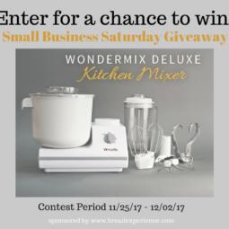 2017 WonderMix Kitchen Mixer Giveaway