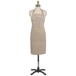 Les Moulins Linen Designer Apron by Now Designs