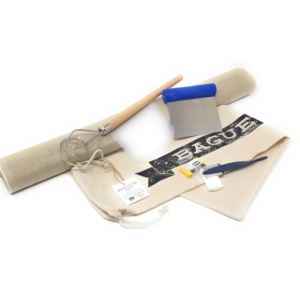 Baguette Making Kit with Couche, Lame, Bread Bag, Dough Cutters, Whisk