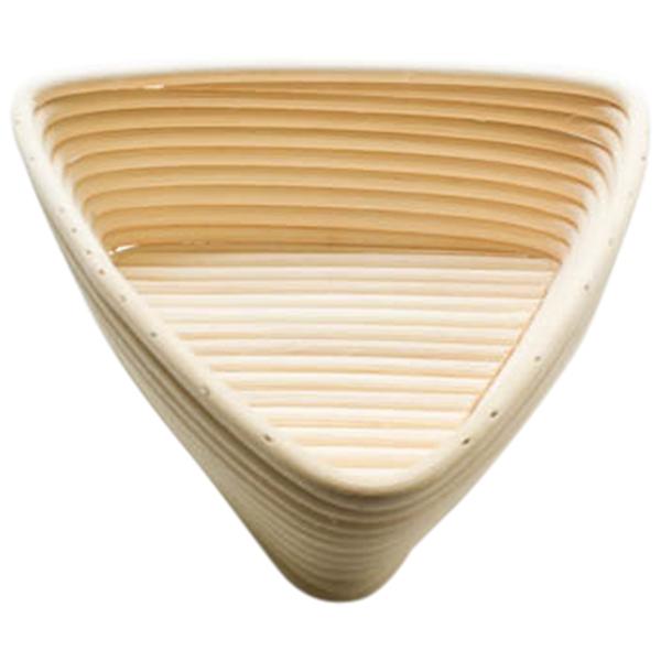 Basket Making Supplies Ireland : Inch triangle banneton bread proofing basket