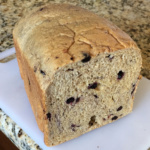 Bread Machine Blueberry Honey Whole Wheat Loaf