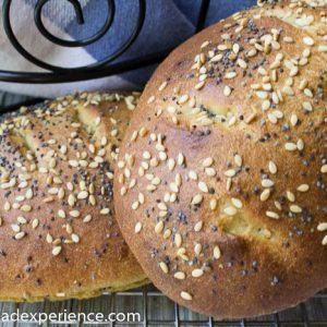 Einkorn Shubbak el-Habayeb | Iraqi Sweet Bread #BreadBakingBabes