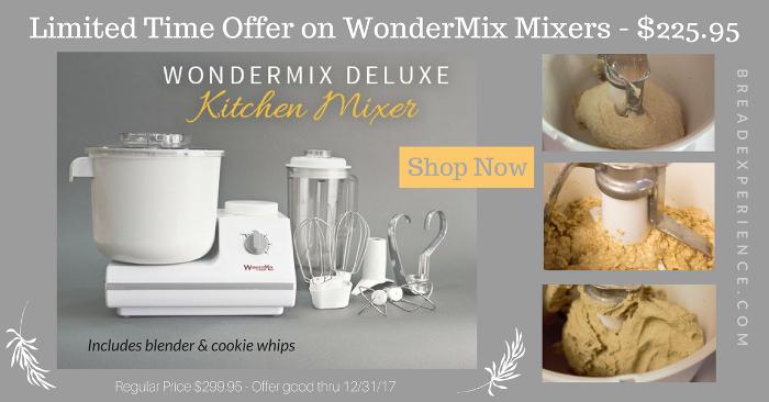WonderMix Mixer 2017 Limited Time Offer