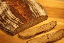 Spelt Sourdough with Popped Amaranth and Potato