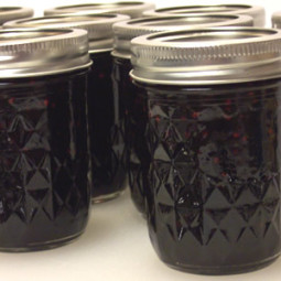 Making Jam: Blackberry Jam using pectin