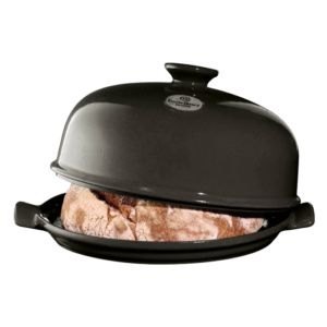 Flame Charcoal Bread Cloche by Emile Henry