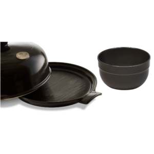 Charcoal Bread Cloche Mixing Bowl Set