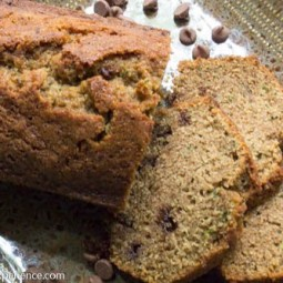Chocolate Chip Zucchini Bread with KAMUT