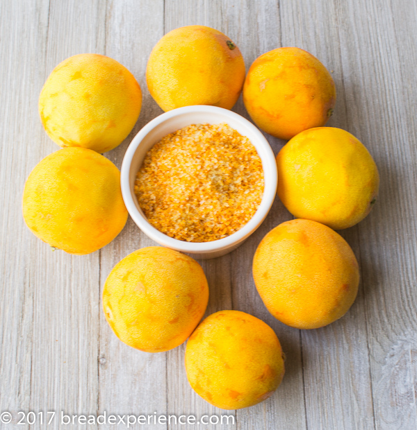 Orange Citrus Salt - #fijchallenge - Bread Experience