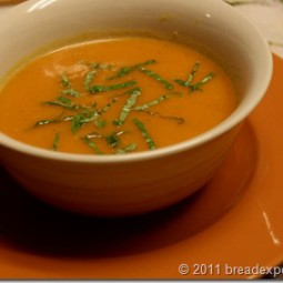 Classic Tomato Soup from the Garden