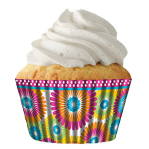 Color Burst Cupcake Baking Cup Liners