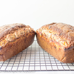 A Tale of Two Einkorn Banana Breads