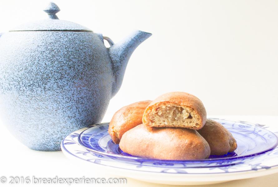 Whole Grain Einkorn Coconut Rolls and Tea