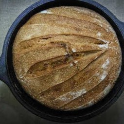 Einkorn Wheat Tartine