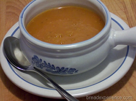 enjoying lots of good soup this month, but this Roasted Tomato Soup ...