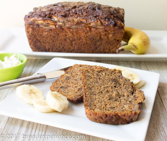 Gluten Free Banana Bread using Gluten Free All-Purpose Flour Mix