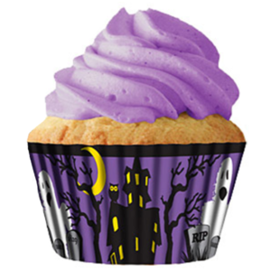 Haunted House Cupcake Papers