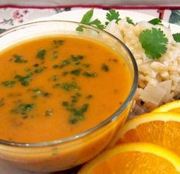 Herbed Pumpkin Soup