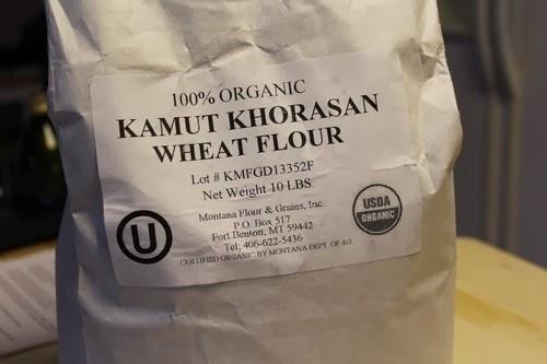 how to make kamut flour