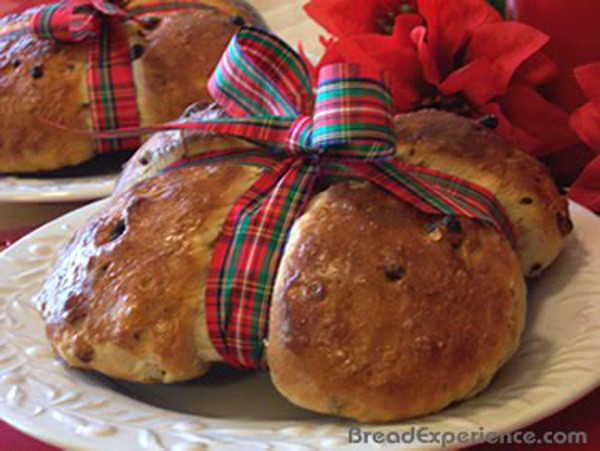 Red Ribbon Gift Loaf -- Bread Gifts