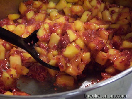 how to make mango jam with pectin