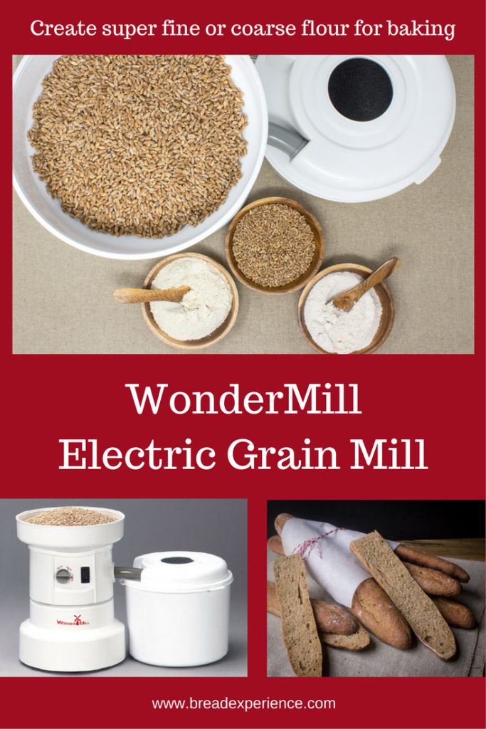 milling flour with wondermill