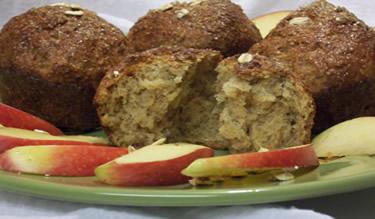 Maple Oatmeal Muffins