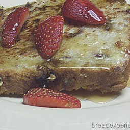 French Toast with KAMUT, Oatmeal Date Bread