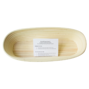 Oblong Bread Proofing Basket Brotform