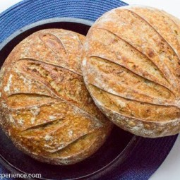 Pain au Romarin– Sourdough Rosemary Bread #BOM