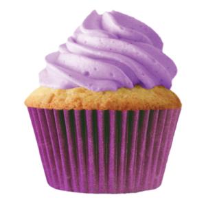 Plum Purple Cupcake Baking Cup Liners