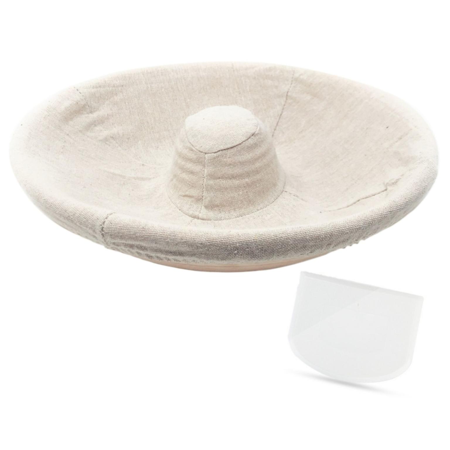 Amazon.com: Premium Long Oval Banneton Basket with Liner