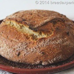 Einkorn and Spelt Pain au Levain with Caramelized Onions