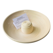 round bread proofing basket center riser