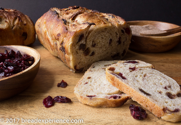 Sourdough Cinnamon Raisin Struan Sliced