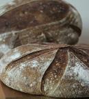 Rustic White, Rye & Spelt Sourdough Bread