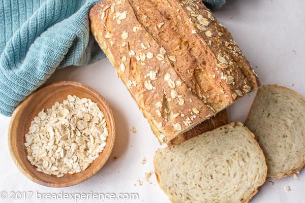 Sourdough Oatmeal Loaf
