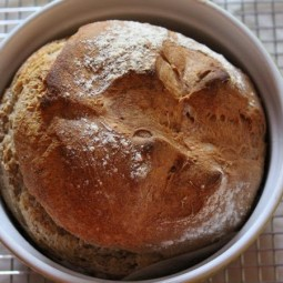 Sourdough Irish Soda Bread with Spelt