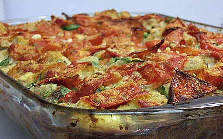 Sourdough Strata with Tomatoes and Greens: Grow Your Own #45 - Bread ...