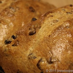 Spelt Bread with Pecans and Golden Raisins