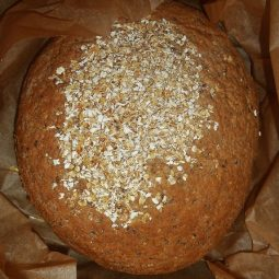 Organic Spelt Bread with Flax and Sesame Seeds