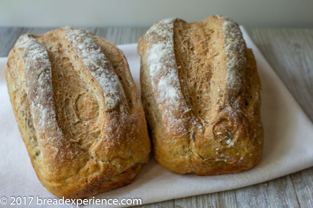 White Bean Bread with Rosemary