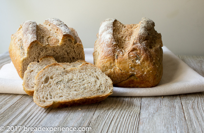 Velvety White Bean Bread with Rosemary