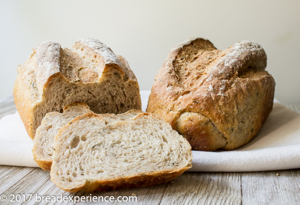White Bean Rosemary Bread