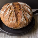Sweet Potato Einkorn Stout Loaf with Oats