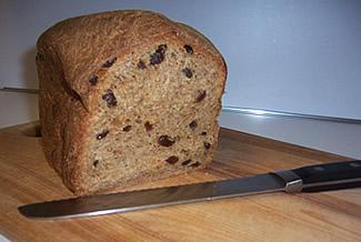 Image result for whole wheat raisin bread