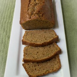 Einkorn Zucchini Bread from the Garden